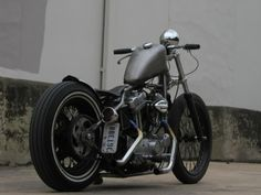 Bobber Inspiration | Sportster bobber | the-ghost-darkness June 2014