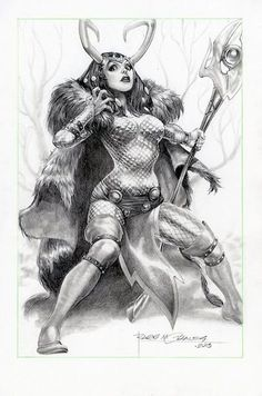 Lady Loki by Rags Morales Comic Book Girl, Comic Book Artists, Comic Book Characters, Marvel Characters, Comic Character, Comic Books Art, Comic Art, Character Design, Female Thor