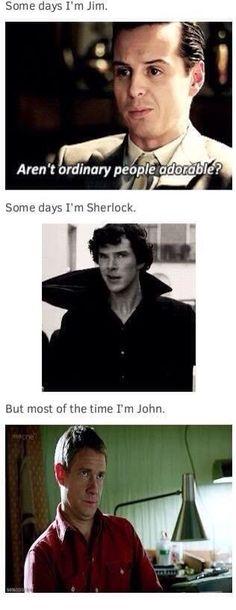 "John be like: ""BOI"""