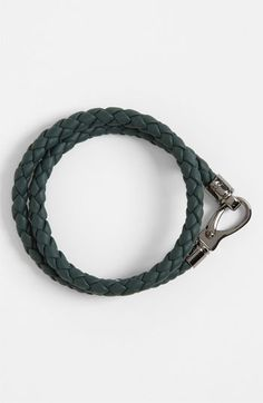 Tod's Braided Leather Bracelet available at #Nordstrom