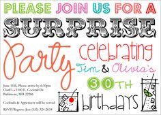 Surprise Cocktails-cocktail party invite images, surprise party invites, cocktail invitations, cocktail party invites, cocktail party invitations, cocktail affair, summer cocktail party invites, tropical party invites, margarity party invites