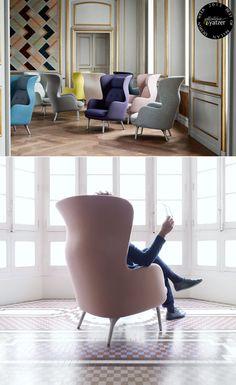 Ro™ armchair by Jaime Hayon for Fritz Hansen. Copyright © Fritz Hansen. > BEST OF MILAN DESIGN WEEK 2013 > http://www.yatzer.com/best-of-milan-design-week-2013