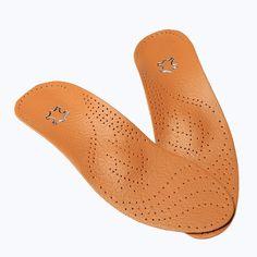 De cuero de Látex Ortopédicos Plantilla Cuidado de Los Pies Antibacterial De Carbón Activo Ortopédicos Arch Support Cojín Del Zapato Empeine de piel de Vaca de Pie Plano