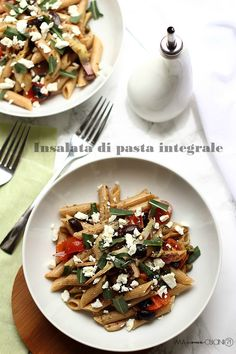 insalata di pasta integrale pasta salad