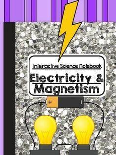 Interactive notebook on electricity, magnetism, and circuits!