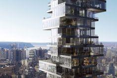 56 Leonard Street - Herzog and de Meuron Architects