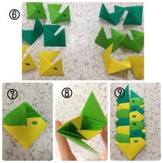 Head to the webpage to see more on Origami Paper Craft Origami Lily, Origami Mouse, Origami Star Box, Origami Stars, Origami Paper Folding, Modular Origami, Japan Crafts, Origami For Beginners, Origami Dragon
