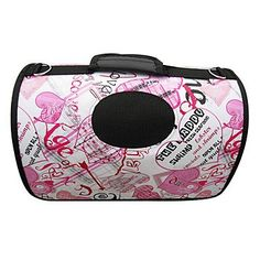 Tint Graffiti Heart Portable Outdoor Dog Cat Carrier For s 37 x 24 x 23cm -- Find out more about the great product at the image link.