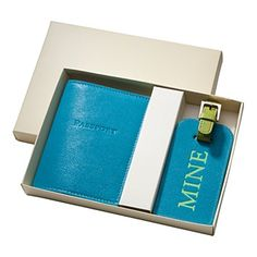 """great gift....Graphic Image """"Mine"""" Luggage Tag & Passport Set 
