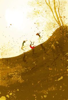 Another free fall. by PascalCampion.deviantart.com on @DeviantArt