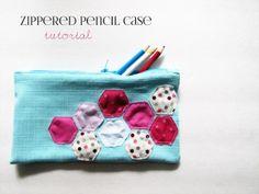 Zippered Pencil Case Tutorial