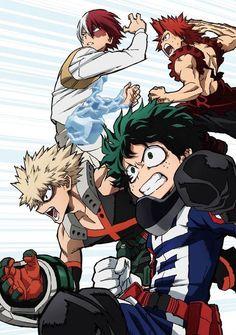 Immagine di anime, boku no hero academia, and my hero academia