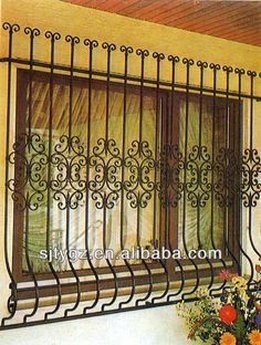 Newest window grill design india of iron for sales $380