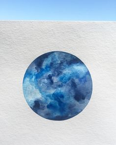 #moon and the #sky #nature #geometric #instaart #blue