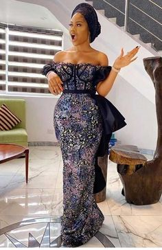 Nigerian Lace Styles, Ankara Long Gown Styles, African Lace Styles, Lace Dress Styles, African Fashion Ankara, Latest African Fashion Dresses, African Print Fashion, Latest Ankara Dresses, African Prom Dresses