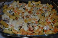 Awesome Light pasta gratin with vegetables WW, recipe of a good pasta dish gratinated with vegetables (carrot, zucchini and mushrooms), easy and simple to realize Indian Diet Recipes, Healthy Recipes, Ethnic Recipes, Plats Weight Watchers, Best Pasta Dishes, Light Pasta, Weigh Watchers, Gratin Dish, Vegetable Pasta
