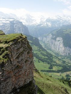 Lauterbrunnen, Switzerland. Some day