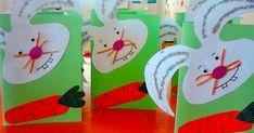 Πως θα είναι οι κάρτες μας για φέτος ;;;  Τα καλαθάκια ;;;;; και γενικά όλες οι κατασκευές ..  Εδώ συγκέντρωσα κάποιες κατασκευές από πέρ... Easter, Blog, Crafts, Character, Manualidades, Easter Activities, Blogging, Handmade Crafts, Craft