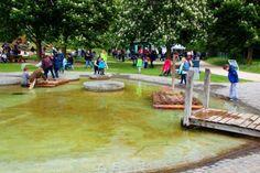 Der Brückenkopf-Park in Jülich allein ist bereits ein wirklich lohnendes Ziel für einen Familien-Tagesausflug. Aber von Donnerstag, 15. bis Sonntag