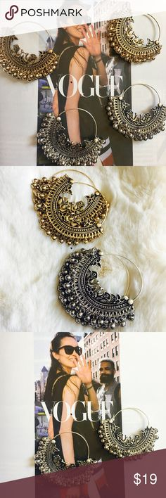 New Arrival- Lightweight Bohemian Earrings Very lightweight bohemian earrings. Free spirited glamour! Intricate design. Nickel and lead compliant. Brand new. Price is firm unless bundled. тнαик уσυ 💕 Jewelry Earrings