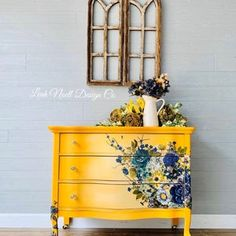 Rustic White, Furniture Wax, Upcycled Furniture, Furniture Makeover, Floral Painted Furniture, Glazing Furniture, Automotive Furniture, Automotive Decor, Funky Furniture