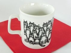 Vintage B Kliban Cats Mug via Etsy.