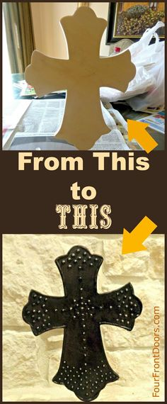 Make Plain WOOD Look Like Designed METAL!