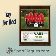 We are so excited to hear that many rec leagues are back up and running this summer. Thank you to all the sponsors that help make these youth and adult programs possible. Be sure to support these businesses and thank them for their sponsorship. #recleague #youthsports #adultrecsports #youthrec #sponsorplaques #sportsphotographer Team Photos, Sports Photos, Award Plaques, Parent Night, Sports Awards, Up And Running, Youth, Things To Come, Summer