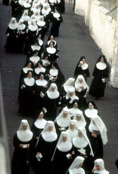 A cluster of Nuns