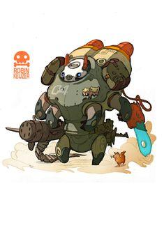 Pig warriors terminator by *RobinKeijzer on deviantART