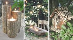 8 drewnianych dekoracji do ogrodu, które stworzą niezwykły klimat