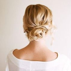 Updos make for some gorgeous prom hair. This one is so simple you won't need to head to the salon, just do it yourself.