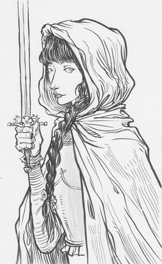Chris Riddell: The Princess Project Drawing Sketches, Art Drawings, Character Inspiration, Character Design, People Art, Drawing People, Book Illustration, Comic Books Art, Adult Coloring