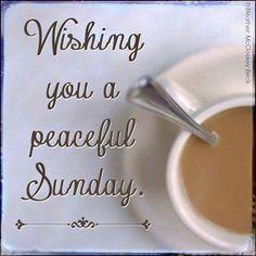 Wishing you a peaceful #Sunday from Coffee Lovers Magazine www.coffeeloversmag.com/theMagazine #coffee