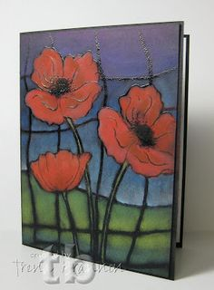 Trena's Stampin' Headquarters: Poppies That Pop