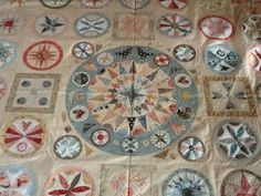 Heathton Manor Creations: Road trip to Castlemaine. Circle Quilt Patterns, Circle Quilts, Star Quilts, Appliqué Quilts, Civil War Quilts, Medallion Quilt, Sampler Quilts, Antique Quilts, Patchwork Designs
