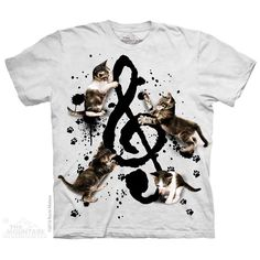 Music Kittens T-Shirt by Roccio Malave | TheMountain.com