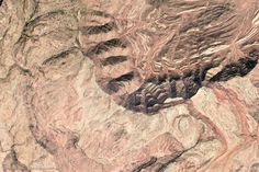 Djeniene-Bourezg Algeria, rock pattern, Google-Earth-view-2060