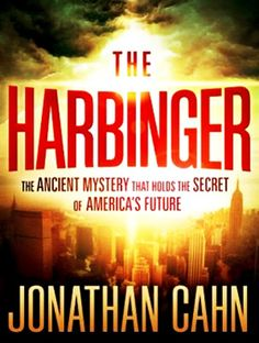 The Harbinger by author Jonathan Cahn. Just finished this book...what an eye-opener!