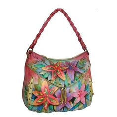 Anuschka 513 Shoulder BagLuscious LiliesOne Size ** You can get additional details at the image link. (This is an Amazon affiliate link)