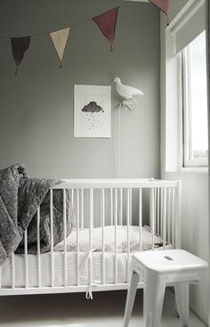 apetyczne wnętrze: pokój dziecięcy w szarościach // children space in grays