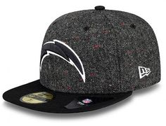 San Diego Chargers Tweed Crest 59Fifty by NEW ERA x NFL