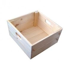 The shallow square crates are an ideal size for fixing to the wall in your kitchen, lounge rooms or even bedrooms to create a funky fashionable yet truly functional shelving system. The dimensions are L 360mm x W 360mm x H 195mm.  All Products Are Made To Order.