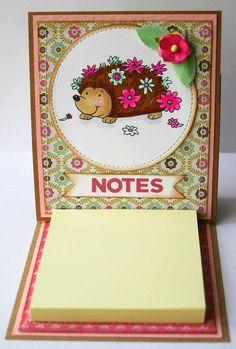 Sticky Notes Holder Tutorial ..........