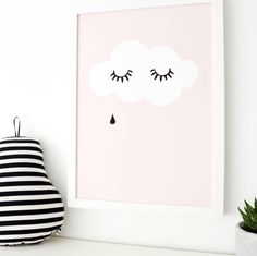 Are you interested in our cloud childrens print? With our childrens art print you need look no further.