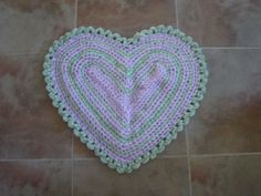 Cozy Lilac rag rug a by adornwithaandm on Etsy, $35.00