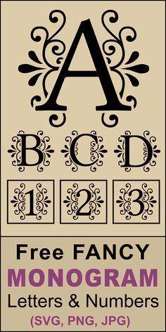 Free Printable Monogram Letters, Decorative Alphabet Letters, Alphabet Letters Design, Cricut Monogram, Monogram Alphabet, Monogram Fonts, Alphabet Wall, Alphabet Templates, Fancy Lettering Alphabet