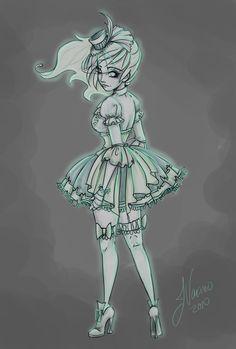 Lolita Ghost Girl by NoFlutter.deviantart.com on @deviantART