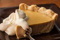 Butter is browned with dark brown sugar and mixed into the custard in this butterscotch pie recipe.