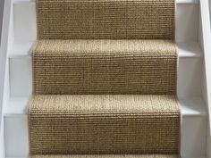 Stylish stair carpet stair carpet sisal super boucle brancaster runner: alternative flooring - carpets, rugs and runners QCZBXSQ Seagrass Carpet, Sisal Carpet, Diy Carpet, Rugs On Carpet, Carpet Ideas, Carpets, Carpet Types, Carpet Decor, Brown Carpet